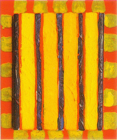 Michael Kravagna - Acrylic on canvas, 25x20, 1992
