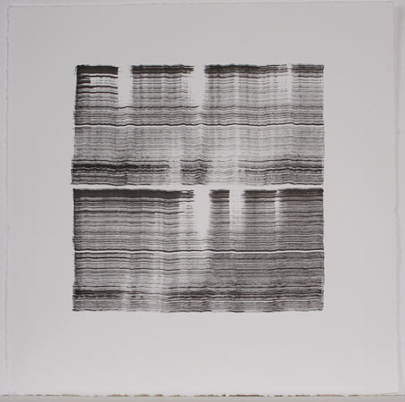 Michael Kravagna - Ink on paper, 30x30, 2009
